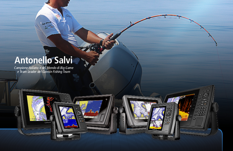 Serate a tema Garmin Fishing Team